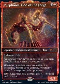 Purphoros, God of the Forge -