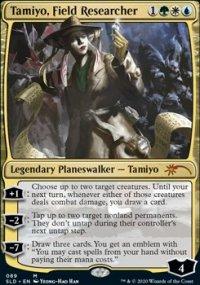 Tamiyo, Field Researcher -