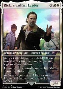 Rick, Steadfast Leader -