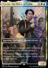 Glenn, the Voice of Calm -