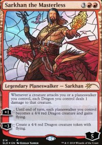Sarkhan the Masterless -
