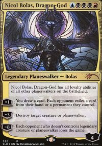Nicol Bolas, Dragon-God -