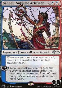 Saheeli, Sublime Artificer -