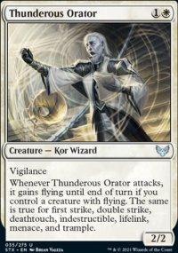 Thunderous Orator -