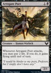 Arrogant Poet -