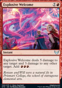 Explosive Welcome -