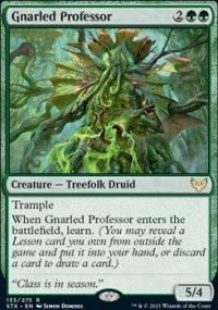 Gnarled Professor -