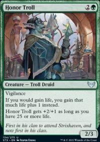 Honor Troll -