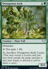 Overgrown Arch -