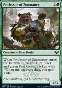 Professor of Zoomancy -