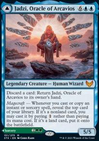 Jadzi, Oracle of Arcavios -