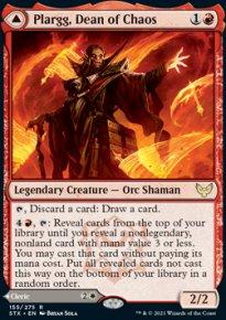 Plargg, Dean of Chaos -