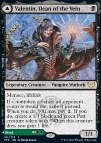 Valentin, Dean of the Vein -