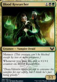 Blood Researcher -