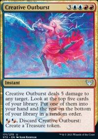 Creative Outburst -
