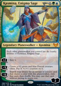 Kasmina, Enigma Sage -