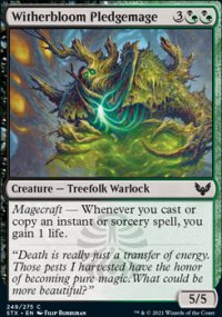 Witherbloom Pledgemage -