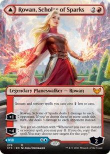 Rowan, Scholar of Sparks -