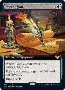 Poet's Quill -