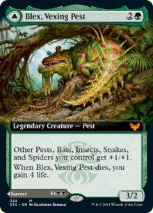 Blex, Vexing Pest -