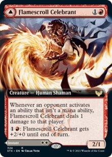 Flamescroll Celebrant -