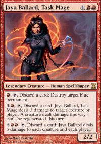 Jaya Ballard, mage de force -