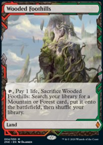 Wooded Foothills - Zendikar Rising Expeditions